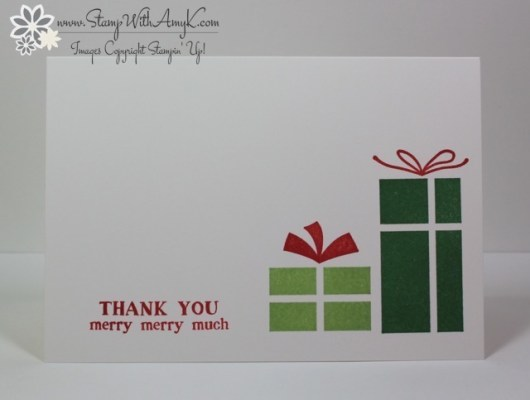 Your Presents - Stamp With Amy K