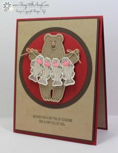 Bear Hugs 2 - Stamp With Amy K