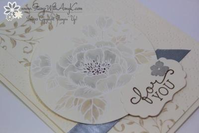 Birthday Blooms 3 - Stamp With Amy K
