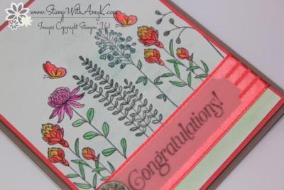 Flowering Fields 3 - Stamp With Amy K