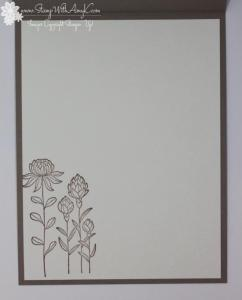 Flowering Fields 4 - Stamp With Amy K