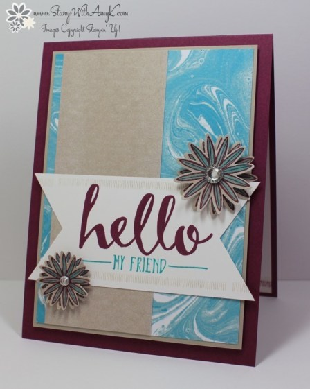 Hello - Stamp With Amy K