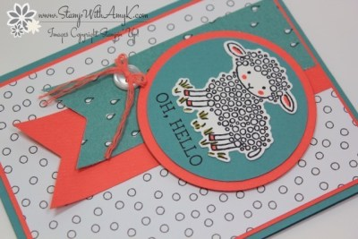 Easter Lamb 3 - Stamp With Amy K