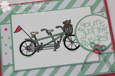 Pedal Pusher 3 - Stamp With Amy K
