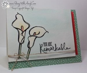Remarkable You 1 - Stamp With Amy K