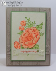 Birthday Blooms 1 - Stamp With Amy K