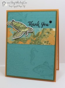 From Land to Sea 2 - Stamp With Amy K