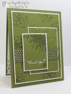 What I Love 2 - Stamp With Amy K