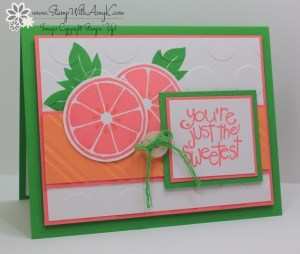 Apple of My Eye 2 - Stamp With Amy K