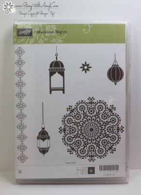 Moroccan Nights 5 - Stamp With Amy K