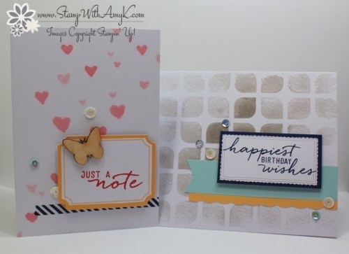 Watercolor Wishes 1 - Stamp With Amy K