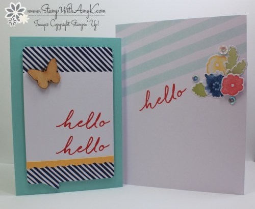 Watercolor Wishes 3 - Stamp With Amy K