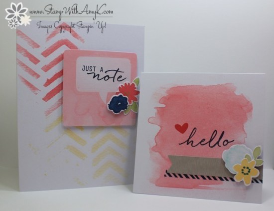 Watercolor Wishes 4 - Stamp With Amy K