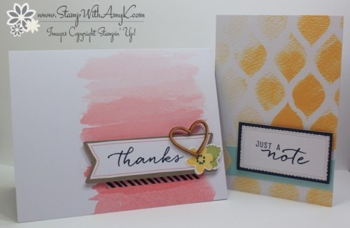 Watercolor Wishes 8 - Stamp With Amy K