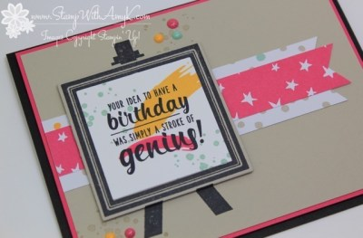 Painter's Palette 3 - Stamp With Amy K