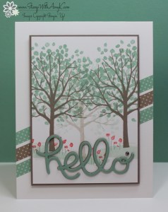 Sheltering Tree 1 - Stamp With Amy K
