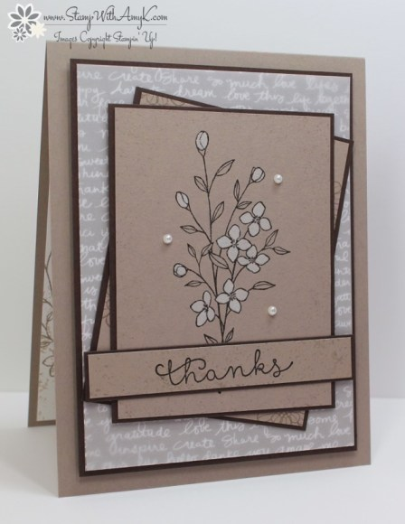 Touches of Texture - Stamp With Amy K