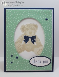 Baby Bear 1 - Stamp With Amy K