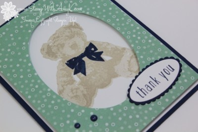 Baby Bear 3 - Stamp With Amy K