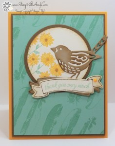 Basket For You 1 - Stamp With Amy K