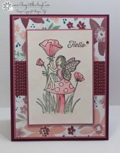 Fairy Celebration 1 - Stamp With Amy K