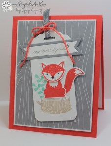 Foxy Friends 2 - Stamp With Amy K