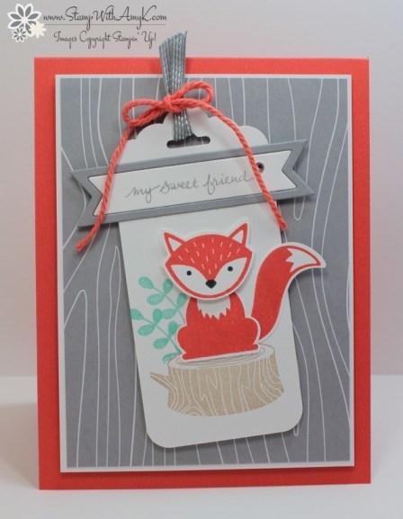 Foxy Friends - Stamp With Amy K