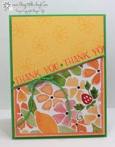 Fresh Fruit 1 - Stamp With Amy K