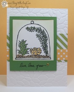 Live, Love, Grow 1 - Stamp With Amy K