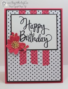 Stylized Birthday 1 - Stamp With Amy K