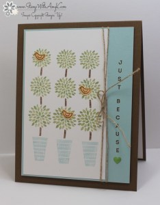 Vertical Greetings 2 - Stamp With Amy K