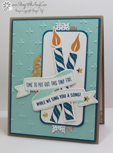 Birthday Banners - Stamp With Amy K
