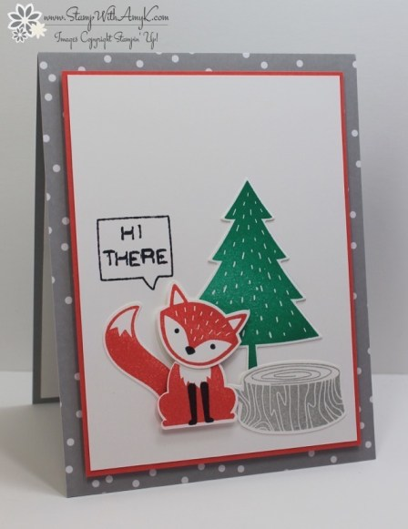 Foxy Friends - Stamp With Amy K
