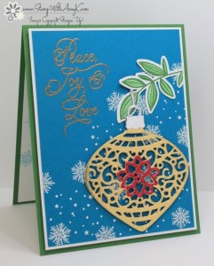Peace This Christmas 2 - Stamp With Amy K