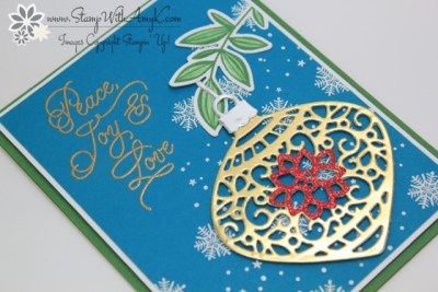 Peace This Christmas 3 - Stamp With Amy K