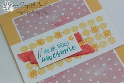 Penned & Painted 3 - Stamp With Amy K