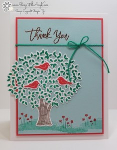 Thoughtful Branches 1 - Stamp With Amy K