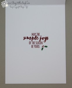 Christmas Pines 4 - Stamp With Amy K