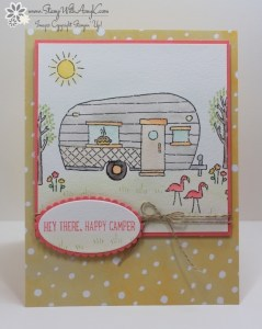 Glamper Greetings 1 - Stamp With Amy K