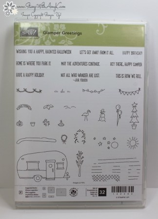 Glamper Greetings 5 - Stamp With Amy K