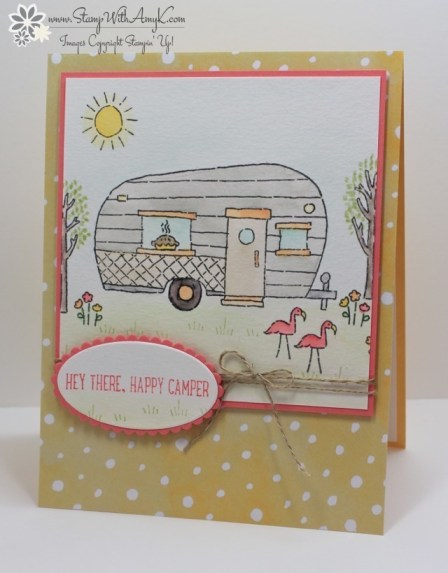 Glamper Greetings - Stamp With Amy K