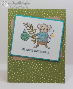 Merry Mice 1 - Stamp With Amy K
