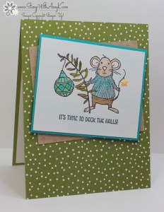 Merry Mice 2 - Stamp With Amy K