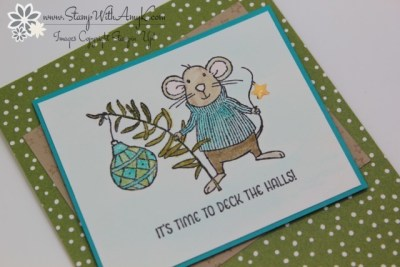 Merry Mice 3 - Stamp With Amy K