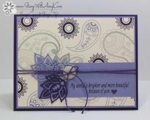 Paisleys & Posies 1 - Stamp With Amy K