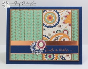 Paisleys & Posies 1 - Stamp With Amy K