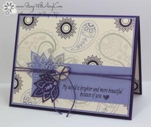 Paisleys & Posies 2 - Stamp With Amy K