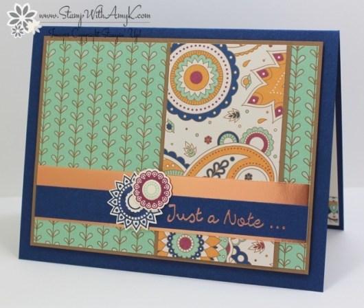 Paisleys & Posies - Stamp With Amy K