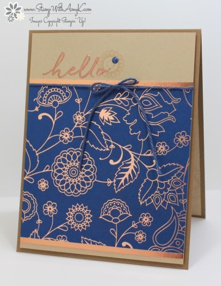 Paisleys & Posies - Stamp With Amy K