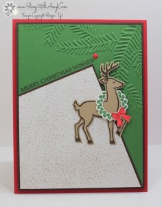 Santa's Sleigh 1 - Stamp With Amy K